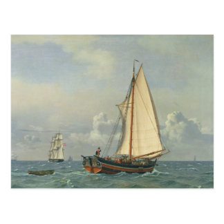 The Sea, 1831 Postcard