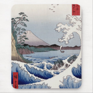 The Sea at Satta in Suruga Province - Mouse Pad