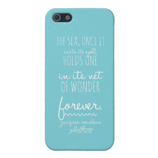 The sea casts its spell phone case iPhone 5 case