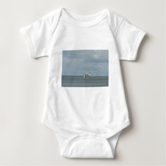 The sea gull and the sea baby bodysuit