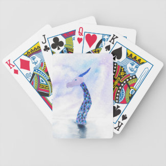The Sea Monster Surfaces Bicycle Playing Cards