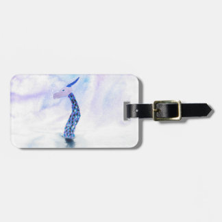 The Sea Monster Surfaces Luggage Tag