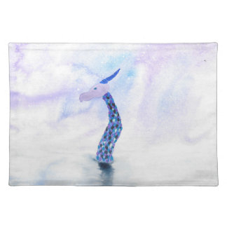 The Sea Monster Surfaces Placemat