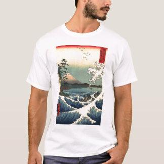 The Sea off Satta by Utagawa Hiroshige T-Shirt