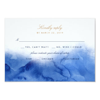 The Sea / RSVP Card