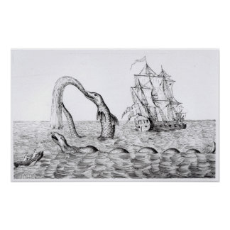 The Sea Serpent Poster