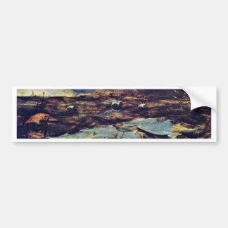 The Sea Storm By Bruegel D. Ä. Pieter Bumper Sticker