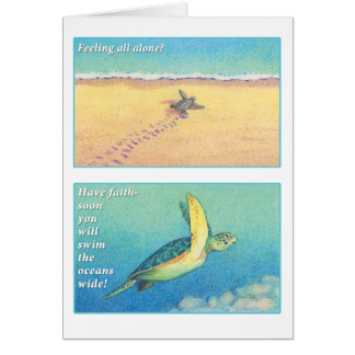 The Sea Turtle Greeting Card