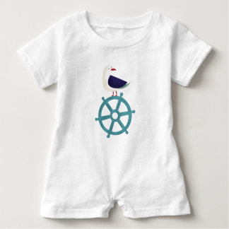 The Seagul Baby Bodysuit