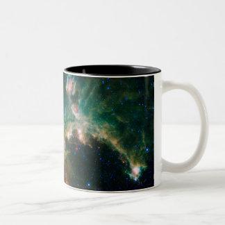 The Seagull Nebula Two-Tone Coffee Mug