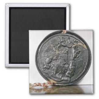 The seal of King Charles II Fridge Magnet