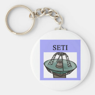 the search for extrterrestrial intelligence: seti key ring