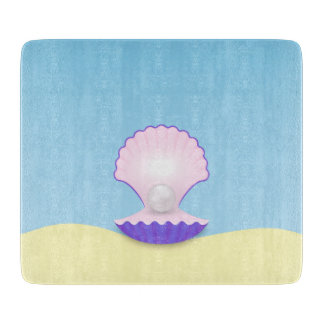The Seashell Cutting Board