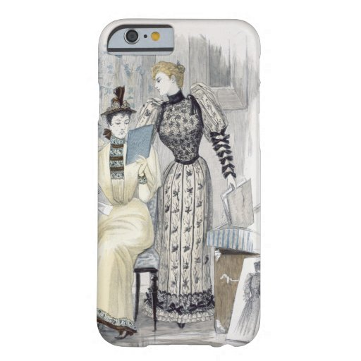 The Season, fashion plate for 'The Queen', Septemb iPhone 6 Case