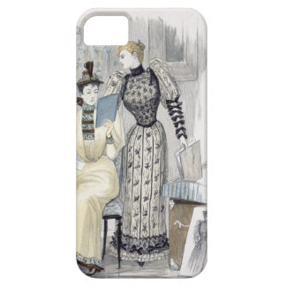 The Season, fashion plate for 'The Queen', Septemb iPhone 5 Covers