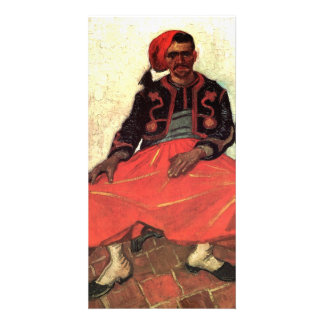 The Seated Zouave by Vincent van Gogh Photo Card Template