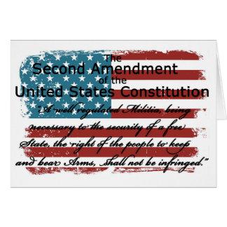 The Second Amendment Card