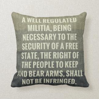 The Second Amendment Cushion