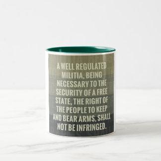 The Second Amendment Two-Tone Mug