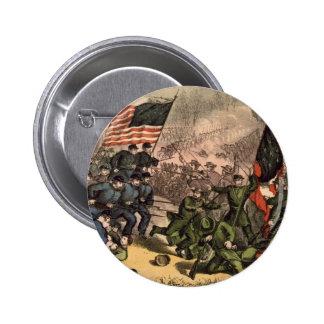 The Second Battle of Bull Run American Civil War 6 Cm Round Badge