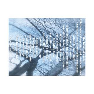 The Secret life of trees Canvas Print