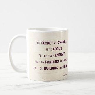 The Secret of Change Coffee Mug