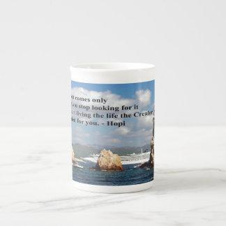 The secret path to wisdom bone china mug