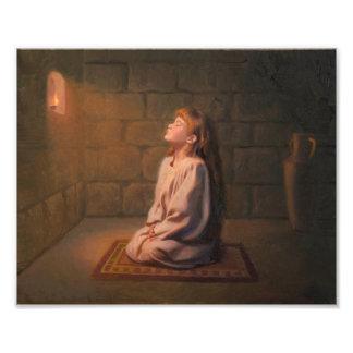 The Secret Prayer Photo Print