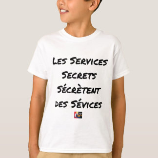 THE SECRET SERVICES SECRETE MALTREATMENT T-Shirt