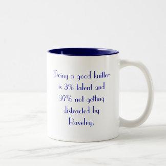The secret to knitting success revealed coffee mug