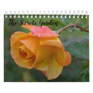 The Secrete Garden Calendar