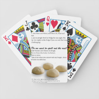 The Secrets of Pizza Bicycle Playing Cards