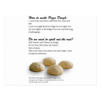 The Secrets of Pizza Postcard