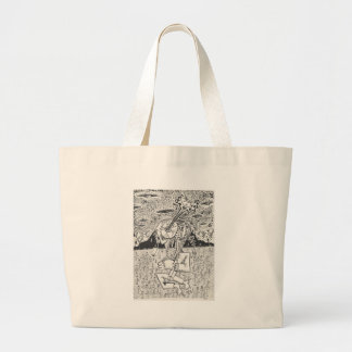 The_Seeding Large Tote Bag