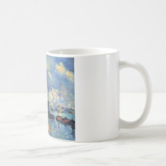 The Seine at Bercy by Paul Cezanne Coffee Mug