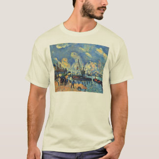 The Seine At Bercy Paintings After Armand Guillaum T-Shirt