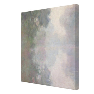The Seine at Giverny, Morning Mists Canvas Print