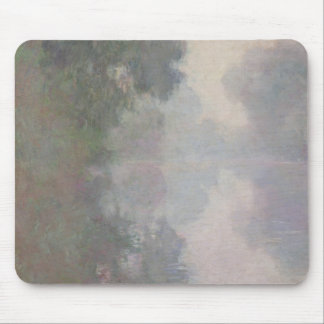 The Seine at Giverny, Morning Mists Mouse Pad