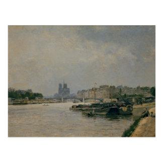 The Seine from the Quai de la Rapee Postcard