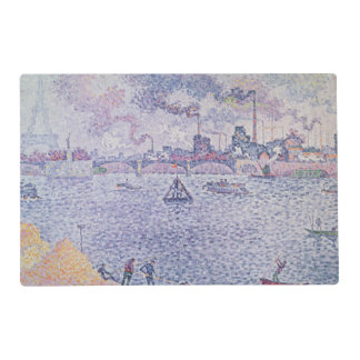 The Seine, Grenelle, 1899 Laminated Place Mat