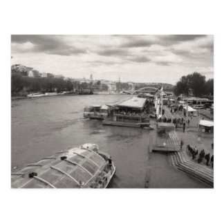 The Seine Postcard