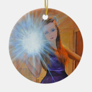 The Selfie Ceramic Ornament