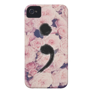 The Semicolon Project iPhone 4 Cover