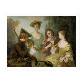 The Sense of Smell, c.1744-47 (oil on canvas) (see Postcard