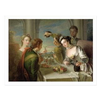 The Sense of Taste, c.1744-47 (oil on canvas) (see Postcard