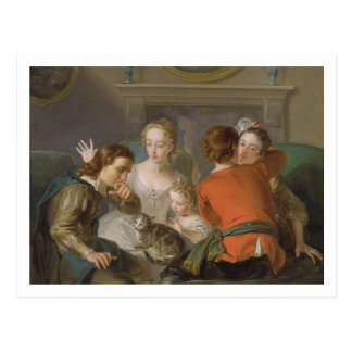 The Sense of Touch, c.1744-47 (oil on canvas) (see Postcard