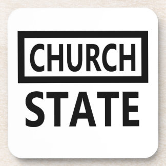 The Separation of Church and State - 1st Amendment Coaster