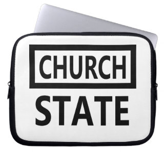 The Separation of Church and State - 1st Amendment Laptop Sleeve