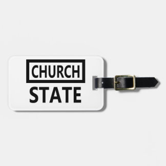 The Separation of Church and State - 1st Amendment Luggage Tag