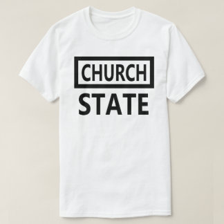 The Separation of Church and State - 1st Amendment T-Shirt